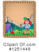 Royalty-Free (RF) Camping Clipart Illustration #1251449
