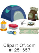 Camping Clipart #1251657 by BNP Design Studio