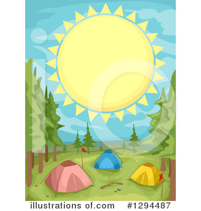 Tent Clipart #1294487 by BNP Design Studio