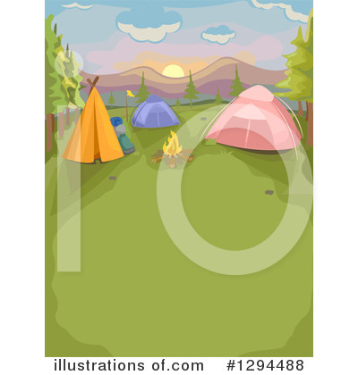 Summer Camp Clipart #1294488 by BNP Design Studio