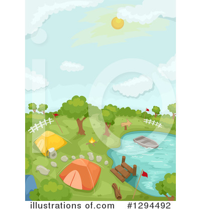 Summer Camp Clipart #1294492 by BNP Design Studio