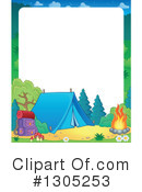 Camping Clipart #1305253 by visekart