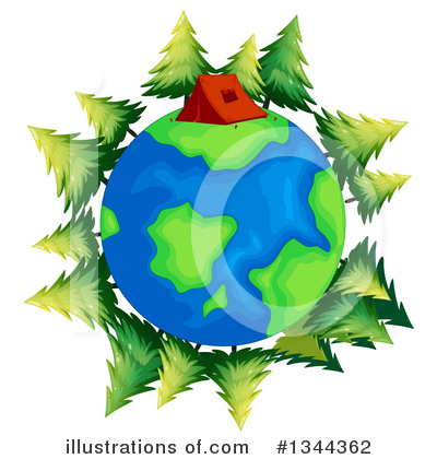 Earth Clipart #1344362 by Graphics RF
