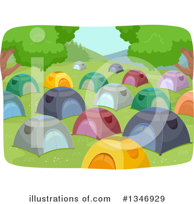 Summer Camp Clipart #1346929 by BNP Design Studio