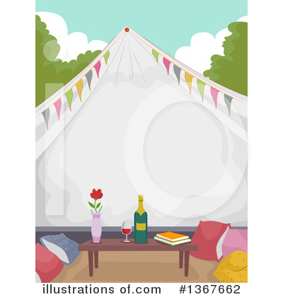Glamping Clipart #1367662 by BNP Design Studio