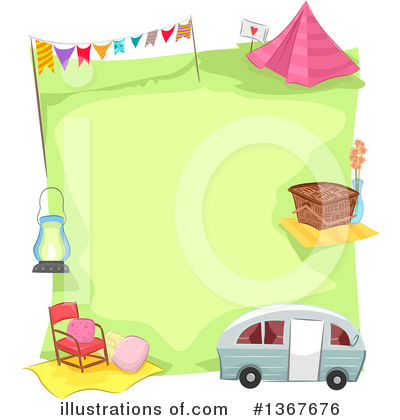 Tent Clipart #1367676 by BNP Design Studio