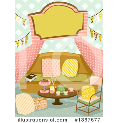 Glamping Clipart #1367677 by BNP Design Studio