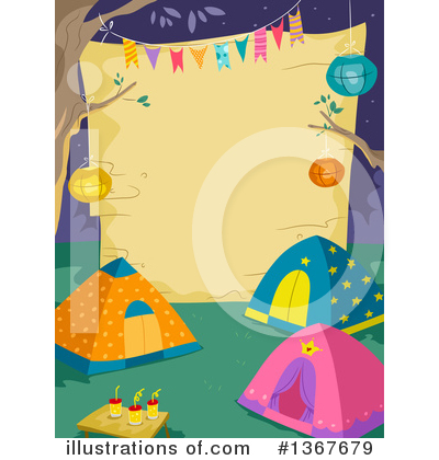 Tent Clipart #1367679 by BNP Design Studio