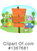 Camping Clipart #1367681 by BNP Design Studio