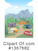 Royalty-Free (RF) Camping Clipart Illustration #1367682