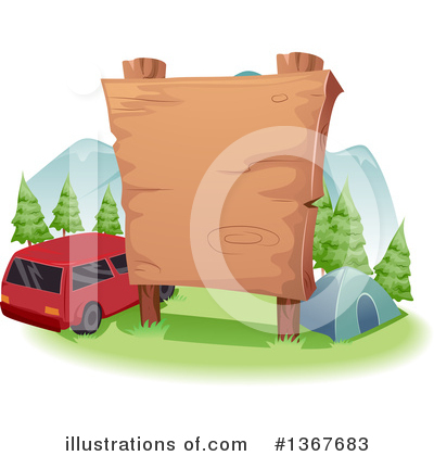 Camping Clipart #1367683 by BNP Design Studio