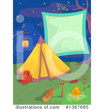 Camping Clipart #1367685 by BNP Design Studio