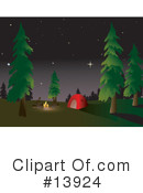 Royalty-Free (RF) camping Clipart Illustration #13924