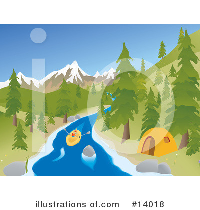 Camping Clipart #14018 by Rasmussen Images