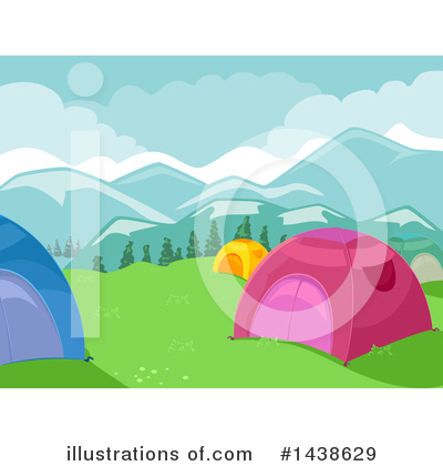 Camping Clipart #1438629 by BNP Design Studio