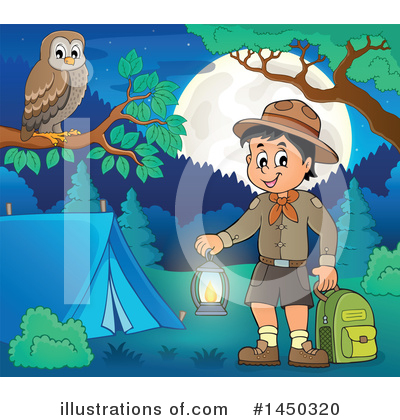 Boy Scout Clipart #1450320 by visekart