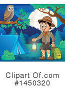 Royalty-Free (RF) Camping Clipart Illustration #1450320
