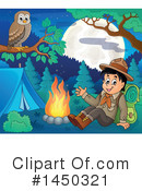 Royalty-Free (RF) Camping Clipart Illustration #1450321