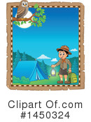Royalty-Free (RF) Camping Clipart Illustration #1450324