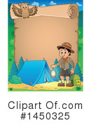 Royalty-Free (RF) Camping Clipart Illustration #1450325