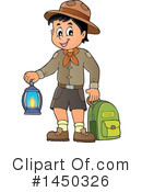 Royalty-Free (RF) Camping Clipart Illustration #1450326