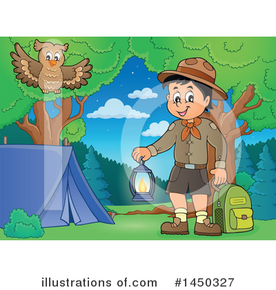 Boy Scout Clipart #1450327 by visekart