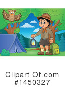 Royalty-Free (RF) Camping Clipart Illustration #1450327