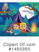 Royalty-Free (RF) Camping Clipart Illustration #1450350