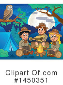 Royalty-Free (RF) Camping Clipart Illustration #1450351