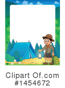 Camping Clipart #1454672 - Apr 22nd, 2017