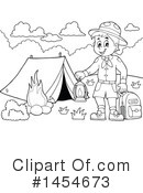 Camping Clipart #1454673 - Apr 22nd, 2017
