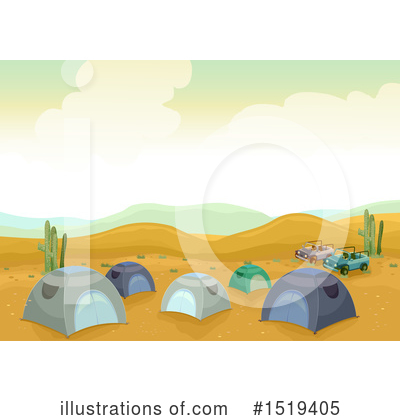 Tent Clipart #1519405 by BNP Design Studio