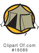 Royalty-Free (RF) camping Clipart Illustration #16089