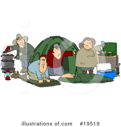 Camping Clipart #19519 by djart