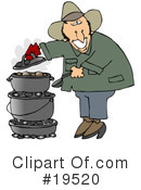 Royalty-Free (RF) camping Clipart Illustration #19520