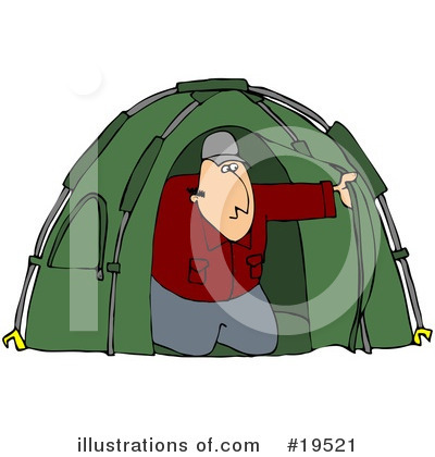 Camping Clipart #19521 by djart