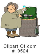 Camping Clipart #19524