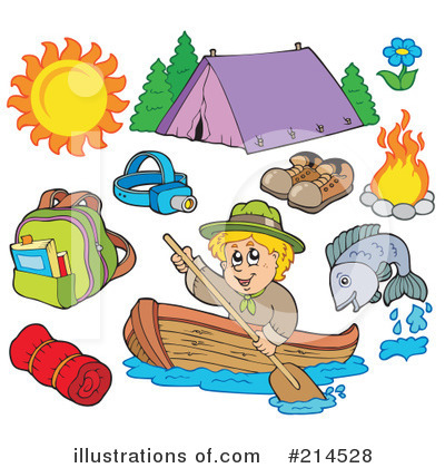 Fishing Clipart #214528 by visekart