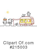 Royalty-Free (RF) Camping Clipart Illustration #215003