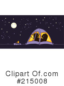 Royalty-Free (RF) Camping Clipart Illustration #215008