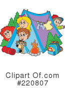 Camping Clipart #220807 by visekart
