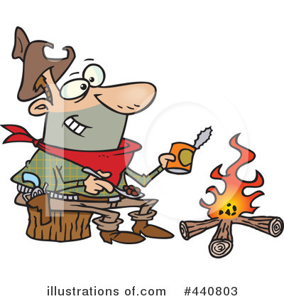 Camping Clipart #440803 by toonaday