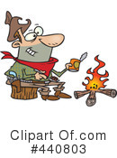 Royalty-Free (RF) camping Clipart Illustration #440803