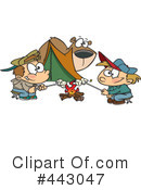 Royalty-Free (RF) camping Clipart Illustration #443047