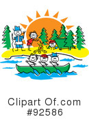 Royalty-Free (RF) camping Clipart Illustration #92586