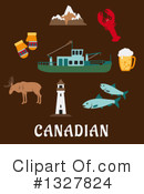 Royalty-Free (RF) Canada Clipart Illustration #1327824