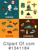Royalty-Free (RF) Canadian Clipart Illustration #1341184