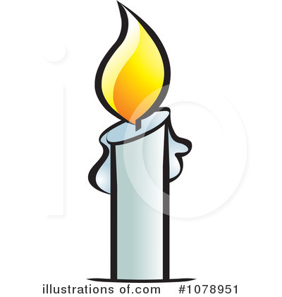 Royalty-Free (RF) Candle Clipart Illustration by Lal Perera - Stock ...