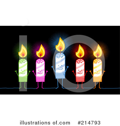 Birthday Candle Clipart #214793 by NL shop