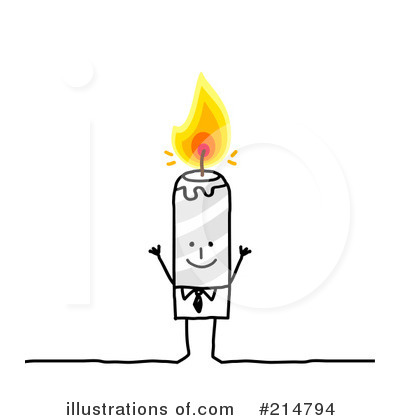 Spa Candles Clipart (rf) candle clipart